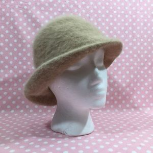 e2f4f885bd17b C&A Accessories   Vintage Ca Angora Cloche Hat M   Poshmark